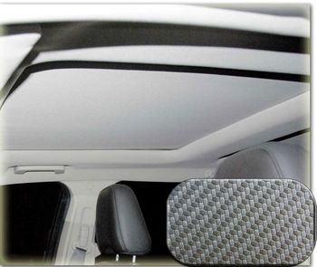Heads-Up OptionZ Carbon Stylized Sunroof Fabric Recovery Kit