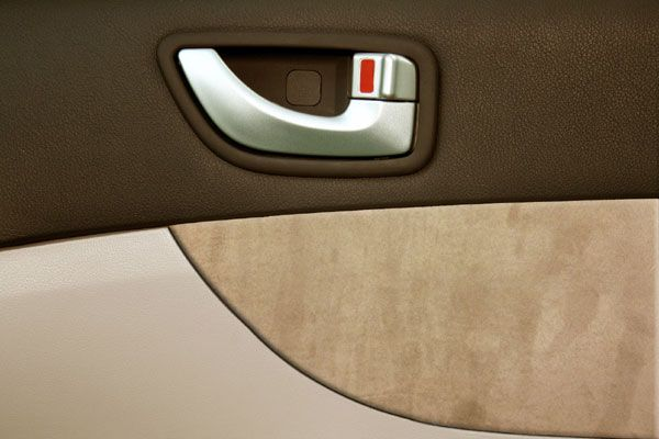 Heads Up Optionz Suede Stylized Door Panel Fabric Recovery