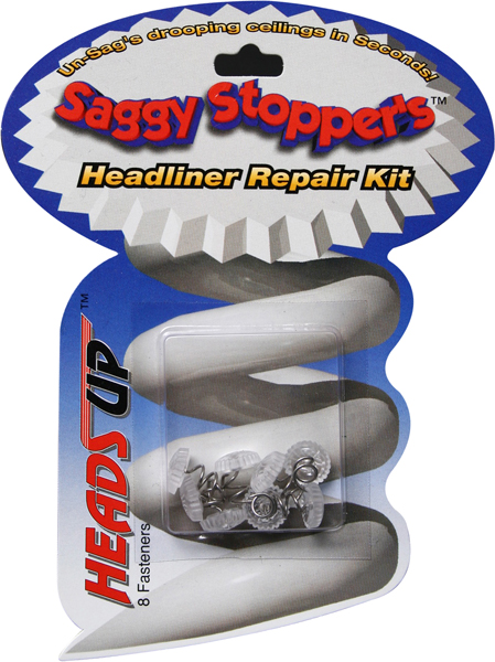Image of Heads Up Saggy Stoppers Emergency Headliner Fasteners