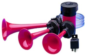 Hella 12V Triple-Tone Air Horn Kit