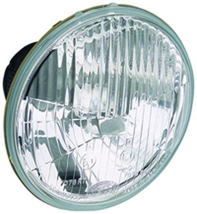 Image of Hella 135mm H1 Single High Beam Headlamp - Off Road Only