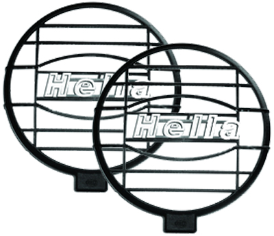 Image of Hella 500FF Free-Form Lamp Series Mesh Grille Shield (Pair)