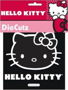 Hello Kitty Die Cut Self Adhesive Vinyl Decal
