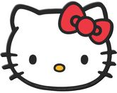 Hello Kitty Face Utility Mat
