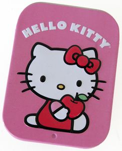 Hello Kitty Organic Tin Scent Air Freshener