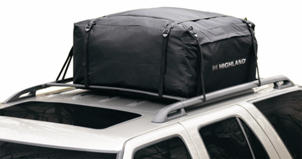 Image of Highland 10 Cu. Ft. Weather Resistant Car Top Carrier w/Storage Sack