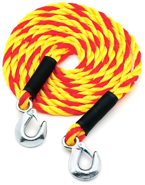 Image of Highland 15 Ft. Tow Rope With Hooks