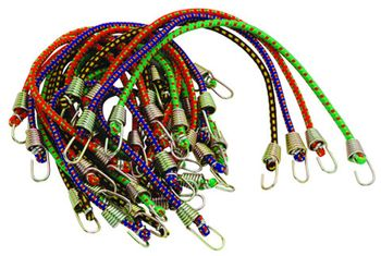 "Highland 20 Piece 10"" Bungee Cord Pack"