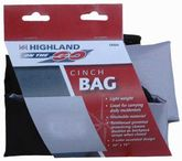 Highland Cinch Closure Cloth Bag & Backpack