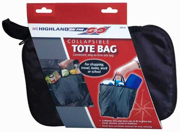 Image of Highland Collapsible Tote Bag