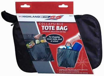 Highland Collapsible Tote Bag