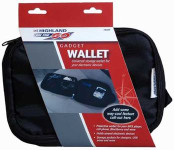 Highland Electronic Devices Travel Organizer