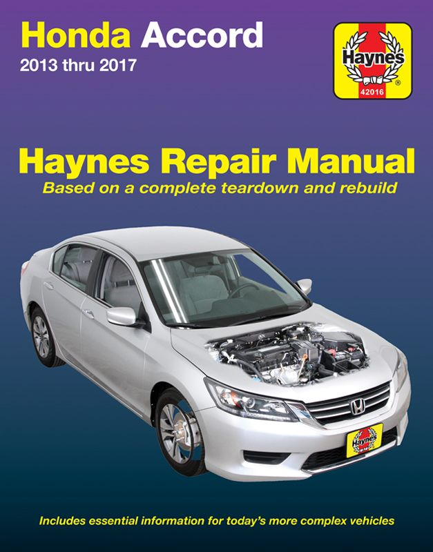 Honda Accord Haynes Repair Manual