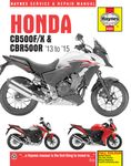 Honda CB500F/X & CBR500R Haynes Repair Manual (2013-2015)
