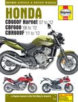 Honda CB600 Hornet, CBF600 & CBR600F Haynes Repair Manual (2007-2012)