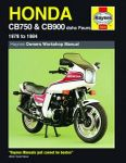 Honda CB750 and CB900 dohc Fours Haynes Repair Manual (1978 - 1984)