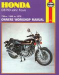 Honda CB750 SOHC Fours Haynes Repair Manual (1969 - 1979)