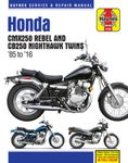 Honda CMX250 Rebel & CB250 Nighthawk Twins (1985-2016)