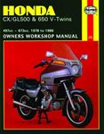 Honda CX/GL500 & 650 V-Twins Haynes Repair Manual (1978-1986)