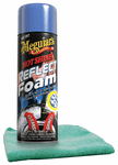 Meguiar's Hot Shine Reflect Foam (19 oz.) & Microfiber Cloth Kit