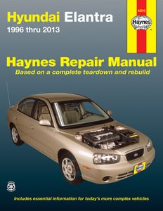 Hyundai Elantra Haynes Repair Manual (1996-2013)