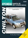 Hyundai Santa Fe Chilton Repair Manual (2001-2012)