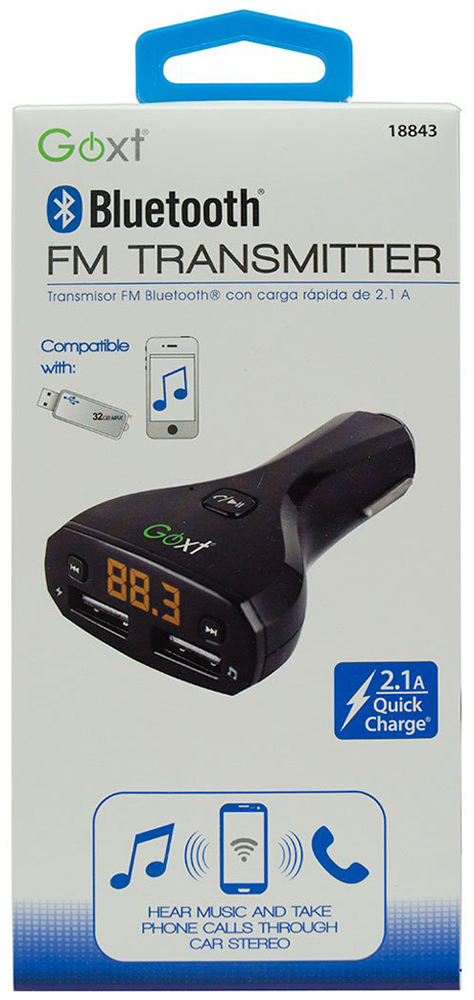 GOXT Mobile Device Bluetooth & FM Transmitter