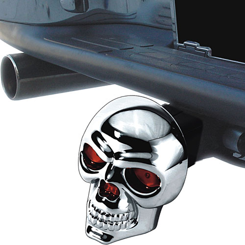 Image of LED Skull Hitch Cover by Pilot