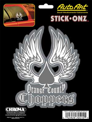 Orange County Choppers Winged Spade 6