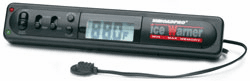 Indoor/Outdoor Electronic Thermometer with Ice Alert and Clock