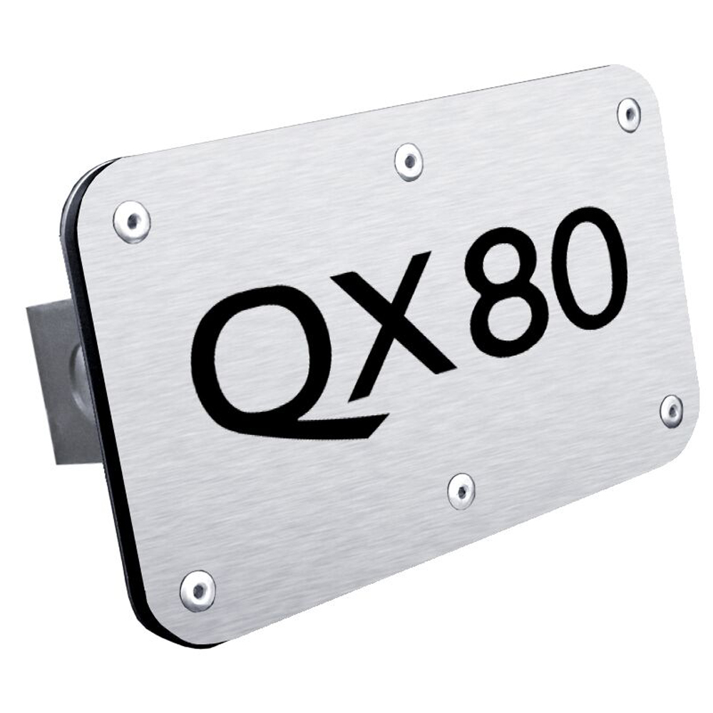 Infiniti QX80 Stainless Steel Hitch Plug