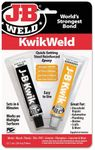J-B Weld Kwik-Weld Quick Setting Steel Reinforced Epoxy(2 oz.)