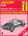 Jaguar XJ6 Haynes Repair Manual (1968-1986)