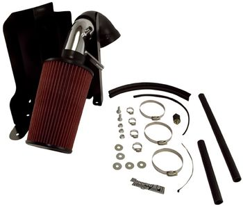 Jeep Cherokee (XJ) 4.0L Polished Aluminum Air Intake Kit (1991-2001)