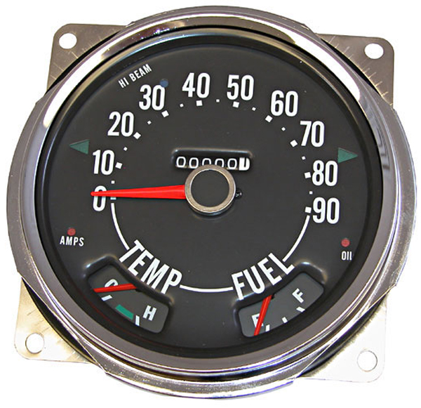 Jeep CJ Replacement Speedometer (1955-1979)