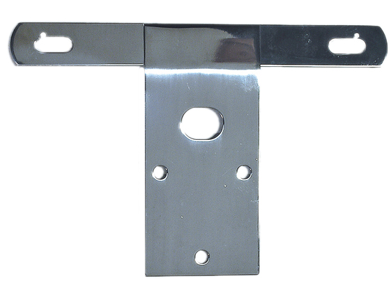 Jeep CJ Stainless Steel License Plate Bracket (1976-1986)