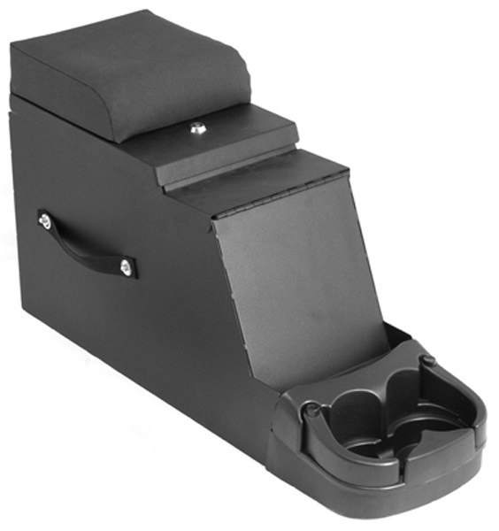 Image of Jeep CJ & Wrangler Stereo Security Center Console (1976-1995)