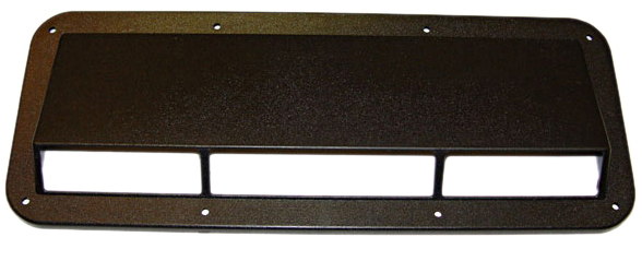 Image of Jeep CJ & YJ Black Plastic Ram Air Induction Scoop