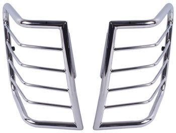 Jeep Grand Cherokee Stainless steel Taillight Guard-Pair (2005-2010)