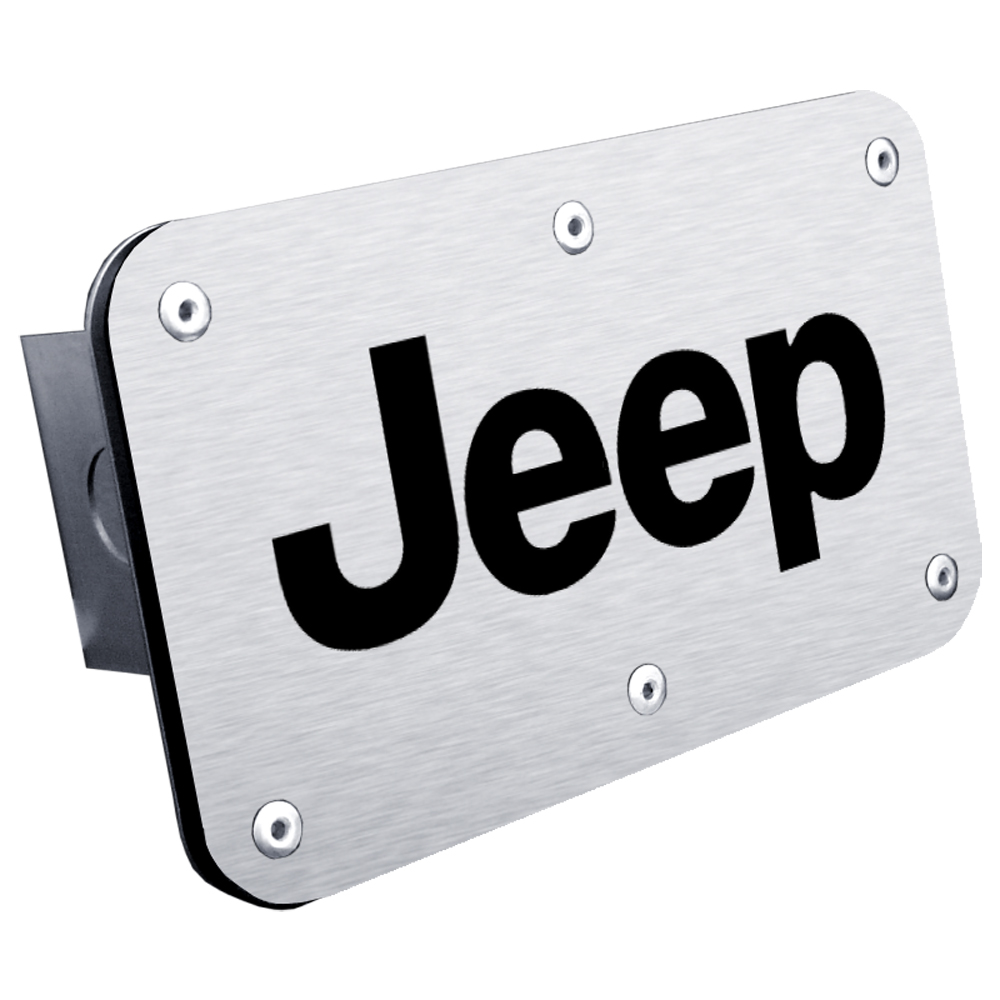 Jeep Class III Stainless Steel Hitch Plug