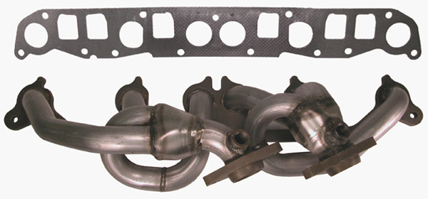 Jeep Wrangler 4.0L Stainless Steel Header Assembly w/Manifold Gaskets (2000-2006)