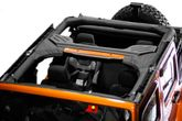 Jeep Wrangler 4 Door Black Polyester Roll Bar Cover (2007-2018)