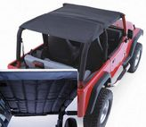 Jeep Wrangler Acoustic Black Denim Island Topper (1997-2006)