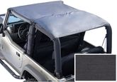 Jeep Wrangler Black Denim Roll Bar Top (1976-1995)