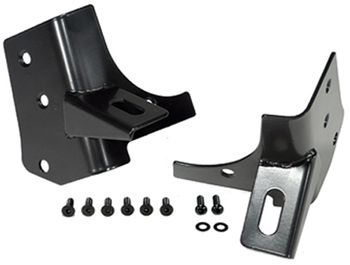 Jeep Wrangler Black Windshield Light Mount Bracket (1976-2006)