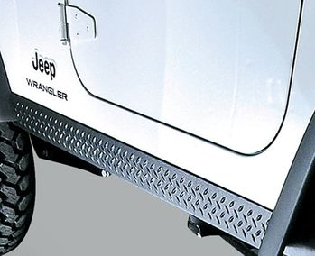 Jeep Wrangler Body Armor Rocker Side Panel Kit