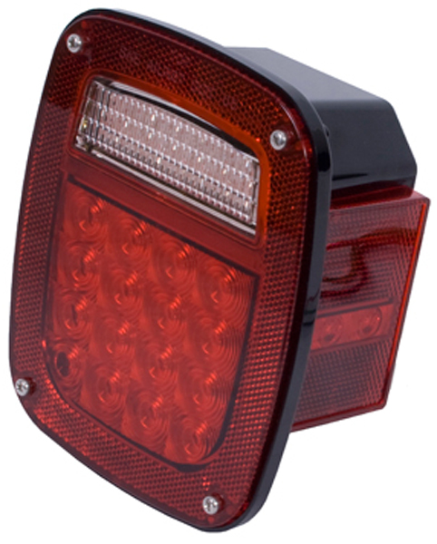 Image of Jeep Wrangler & CJ LED Tail Light Assembly (1976-2006)