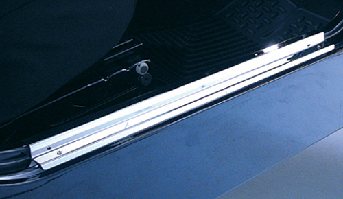 Image of Jeep Wrangler & CJ Stainless Steel Entry Guards (1955-2006)
