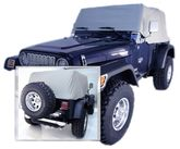 Jeep Wrangler & CJ Water Resistant Vinyl Cab Covers (1976-2006)