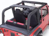 Jeep Wrangler Denim Black Roll Bar Cover Kit (1992-1995)